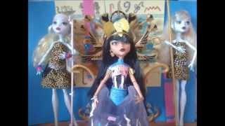 Monster High Cleo - Dark Horse ft. Howleen Stop-Motion