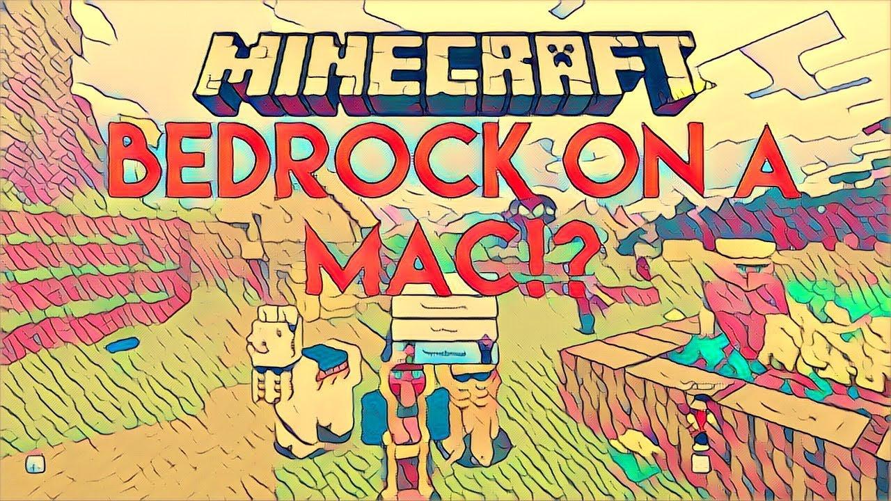How To Get Minecraft Bedrock Edition On Mac OSX  FirePlayz - YouTube