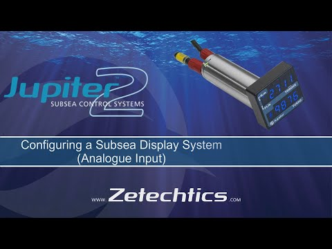 Configure a Subsea Display Analogue Input using the Support App