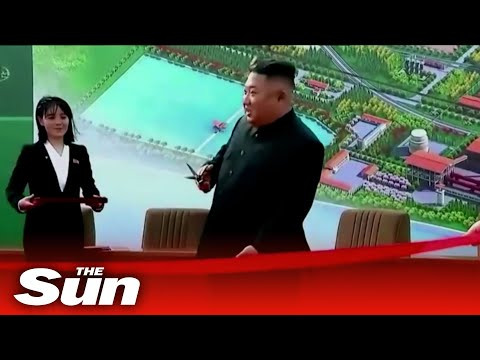 North Korea leader Kim Jong-un 'appears in public for first time in 20 days'
