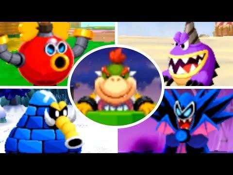 Mario & Luigi: Dream Team - All X Bosses (No Damage)