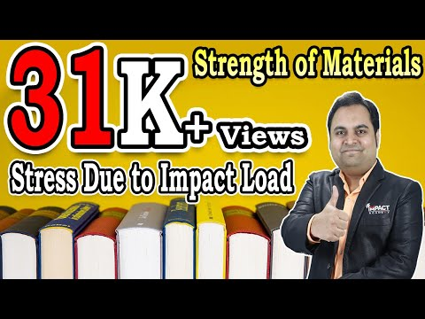 Stress Due to Impact Load   Strain Energy   Strength of Materials  