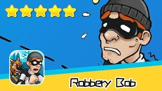 Robbery Bob™ - Level Eight AB - Winter 13-15 Walkthrough Stylish Suit Recommend index five stars