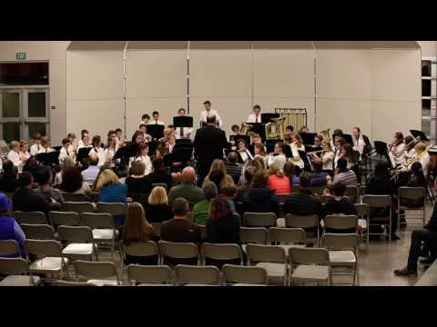 Pacific Crest Middle School Band - Scenes From The Nutcracker