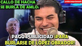 Video Callo de hacha intenta Burlarse de López Obrador - Campechaneando download MP3, 3GP, MP4, WEBM, AVI, FLV Mei 2018