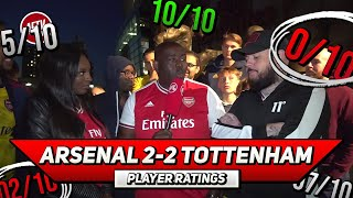 Arsenal 2-2 Tottenham Player Ratings | How Did DT Rate Xhaka? Feat Pippa