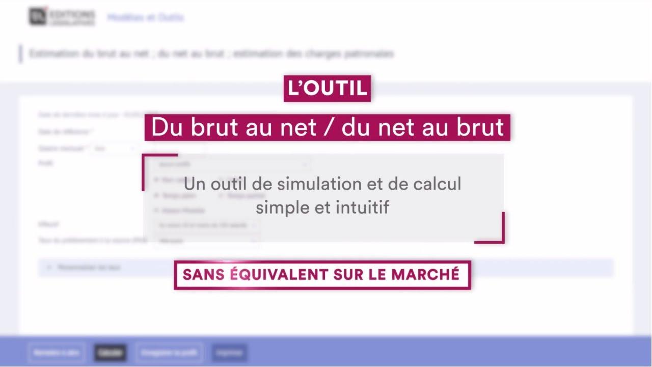 Du Brut Au Net Du Net Au Brut Guide Permanent Paie Bi Média