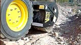 Video Vibratory roller Euro Implementos