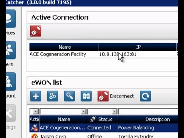 eWON – Remote access to Allen Bradley (Rockwell Automation) PLC