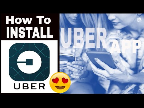 How to Install The Uber App - First Ride Free (Up to $15)!