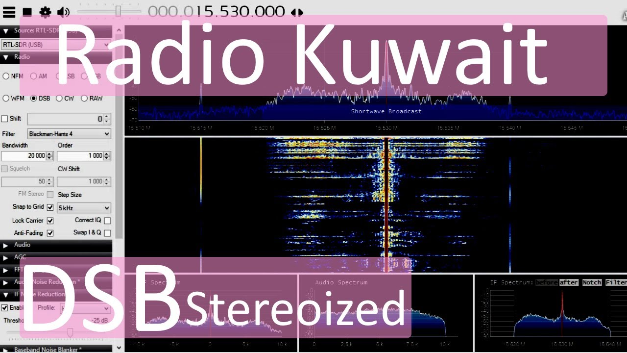 Radio Kuwait Music [20KHz DSB Stereoized]  Received in the UK 2020-02-28 07-45 UTC