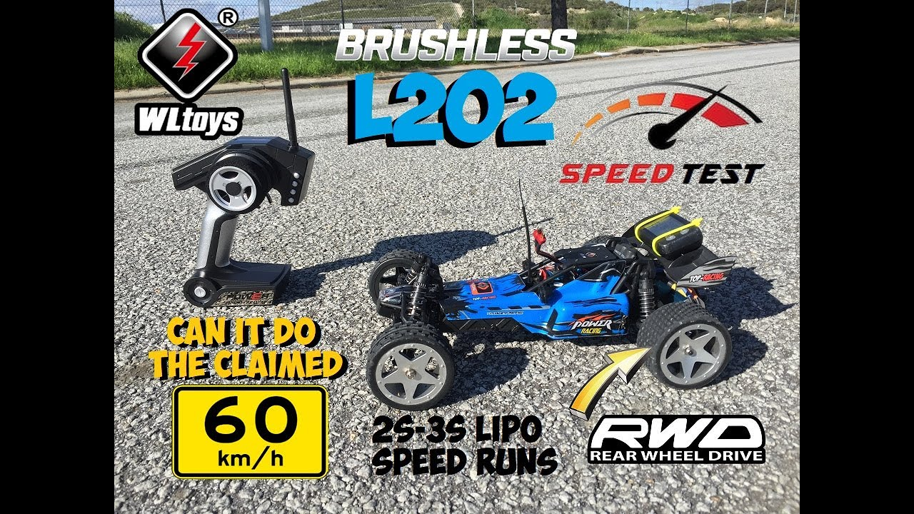 WLTOYS L202 BAJA BUGGY MAX SPEED RUNS