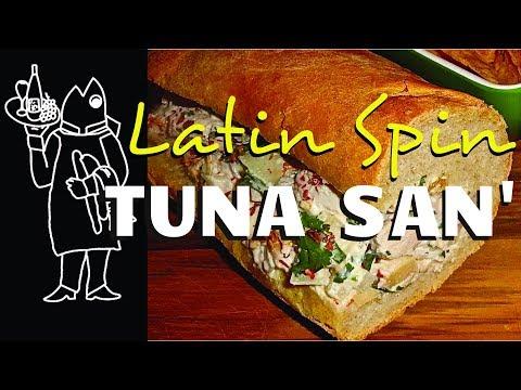 Fish Sandwich😛 ? Cook Your Catch Tuna Recipe🎣 ? Latin Homemade Tuna Sandwich From Frozen Tuna