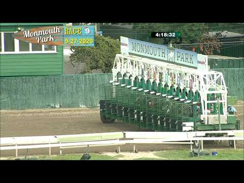 video thumbnail for MONMOUTH PARK 09-27-20 RACE 9