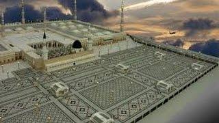 The opening of giant umbrellas-Madinah al-munawwarah