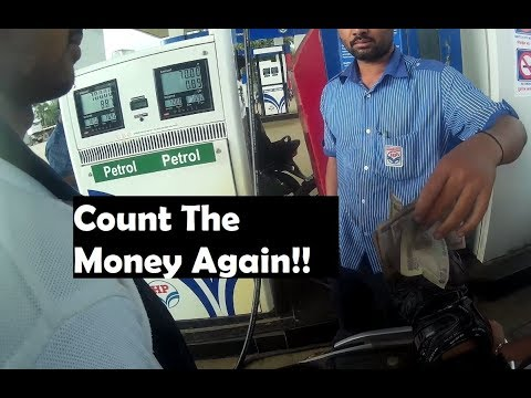 This petrol pump employee messed up