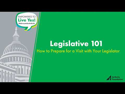 Legislative Branch 101 - Advocate Training Video