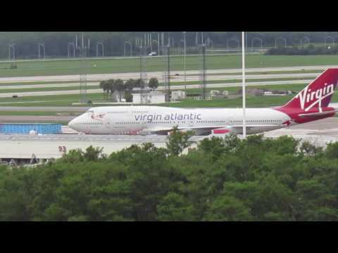 Plane Spotting at MCO Orlando! Episode one! IF you like heavy, this is for you!
