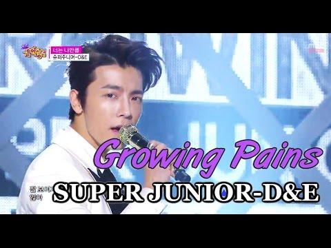 [HOT] SUPER JUNIOR-D&E - Growing Pains, 슈퍼주니어-D&E - 너는 나만큼 Show Music core 20150314