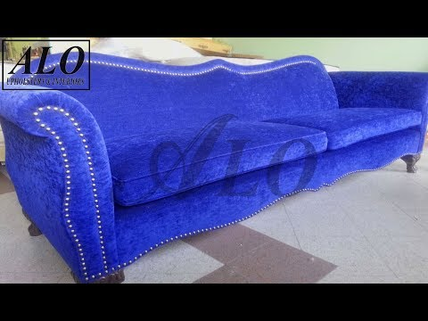 HOW TO UPHOLSTER A NEW SOFA FRAME - ALO Upholstery