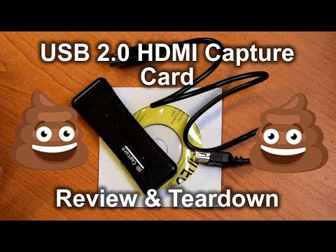 HD Capture - USB 2.0 HDMI capture card REVIEW & TEARDOWN