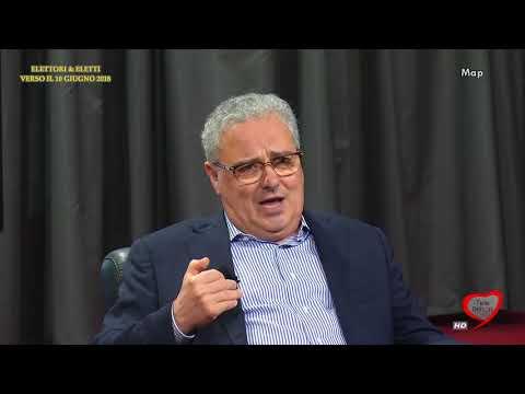 Elettori & Eletti 2017/18 022 Franco Napoletano, Candidato sindaco Bisceglie