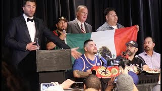 "Andy Ruiz Jr. reacts to Anthony Joshua win: ""Mom, we don't have to struggle anymore"""