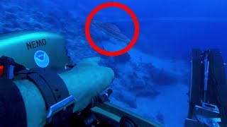 Treasure Hunter Finds ALIEN Spaceship Under Bermuda Triangle
