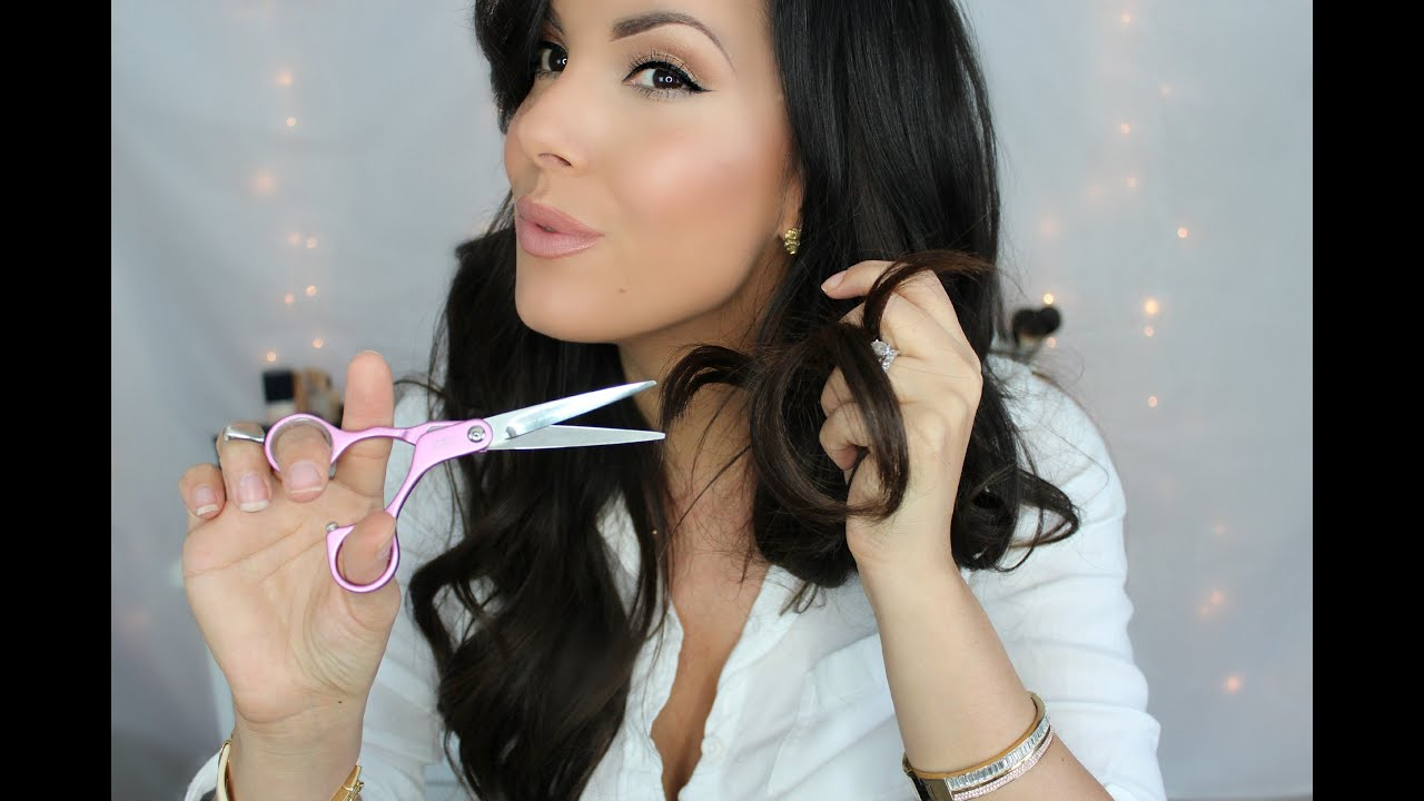 Cutting Hair Extensions DIY EASY