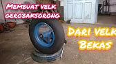 Membuat Roda Gerobak 5 Youtube
