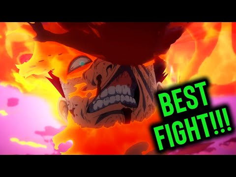 HE'S A SAVAGE! Endeavor Vs High End Nomu PLUS ULTRA - My Hero Academia