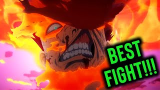 HE'S A SAVAGE! Endeavor vs High End Nomu PLUS ULTRA - My Hero Academia