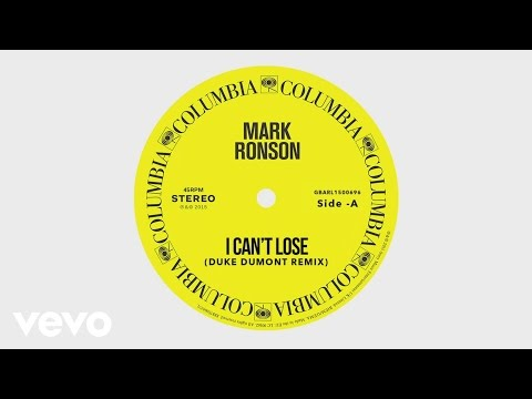 Mark Ronson - I Can&39;t Lose Duke Dumont Remix  ft Keyone Starr