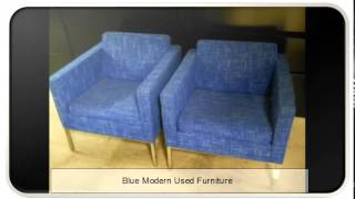 Blue Modern Used Furniture