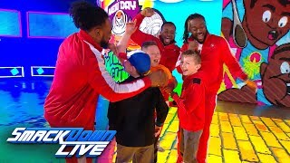 The New Day surprise three young WWE fans: SmackDown Exclusive, Jan. 22, 2019