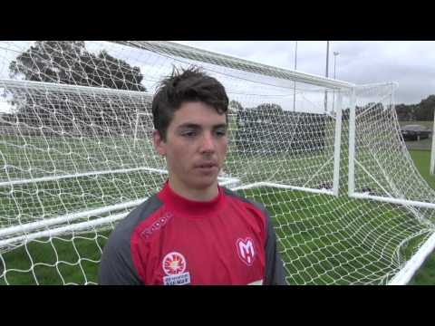 Walker and Garuccio on Young Socceroos selection