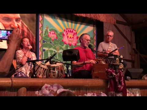 Mere Gurudev (Door Of Faith) - Krishna Das with Janaki Kagel Spring on Maui 2017