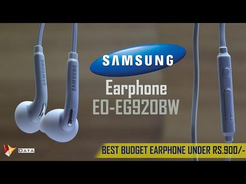 Best Budget Samsung Earphone   Model No. EO-EG920BW   Data Dock