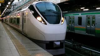 ときわ69号勝田行き、上野駅発車。
