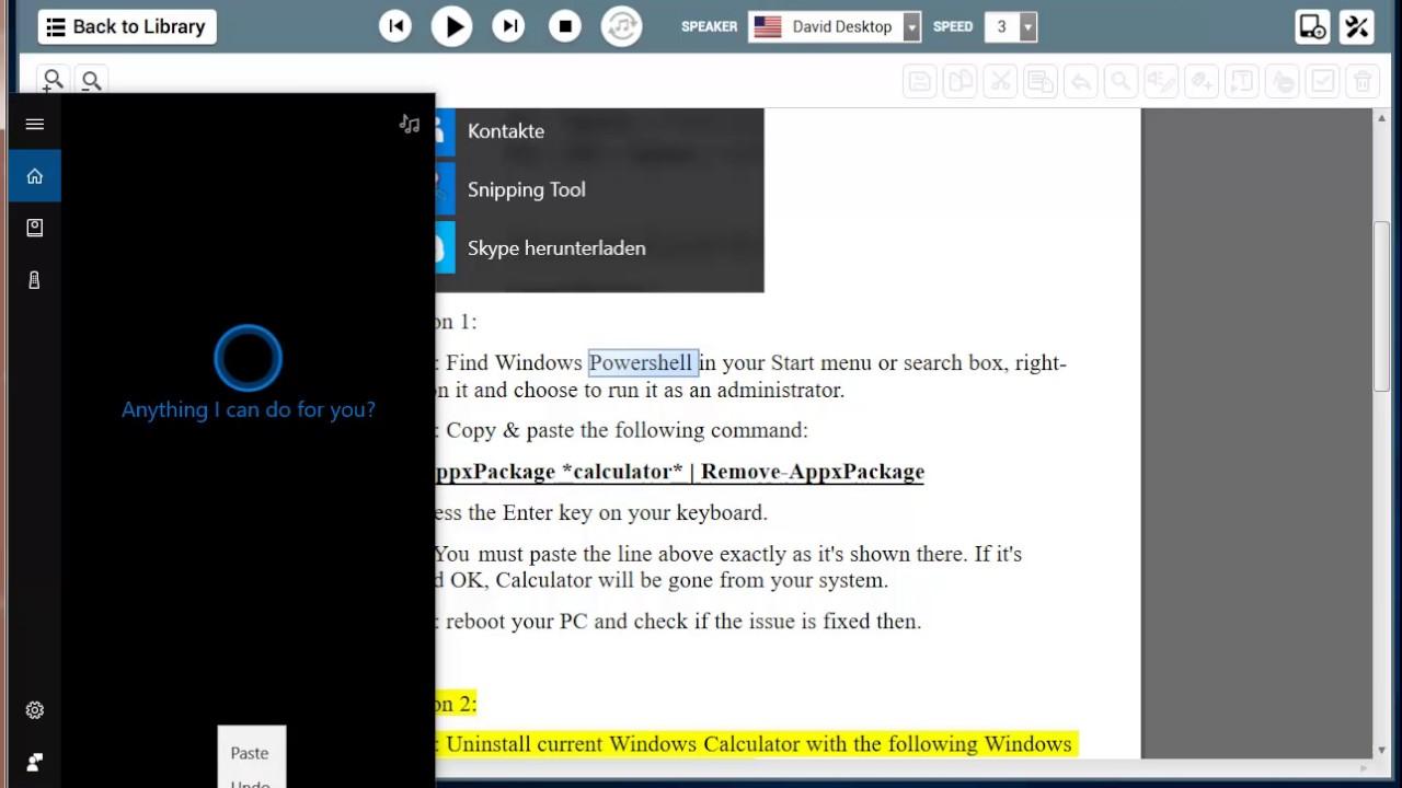 Fix Corrupted Calculator App on Windows 10