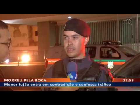 DF ALERTA - Menor fujão entra em contradição e confessa tráfico