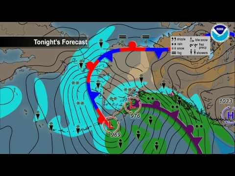 January 25, 2017 Alaska Weather Daily Briefing
