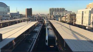 【わかしお】255系 特急 わかしお@蘇我駅※上からの撮影
