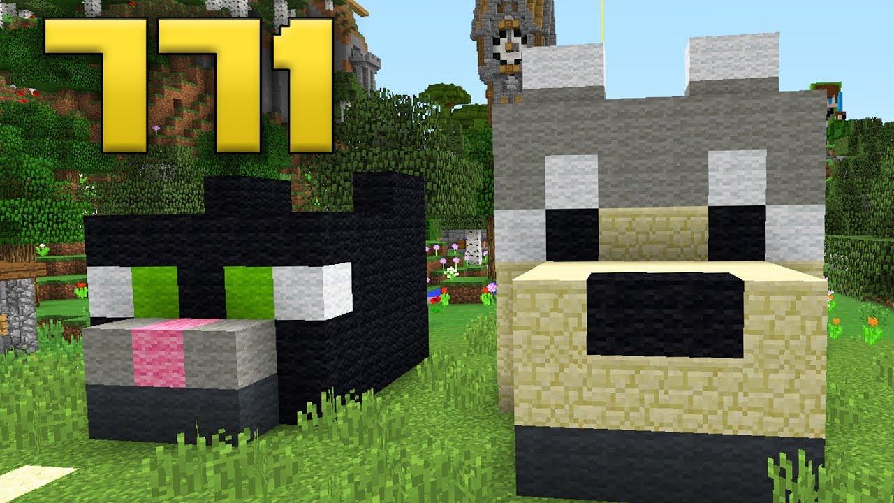 Minecraft ita 771 nuove cucce per i miei animali for Recinti per cuccioli di cane in casa