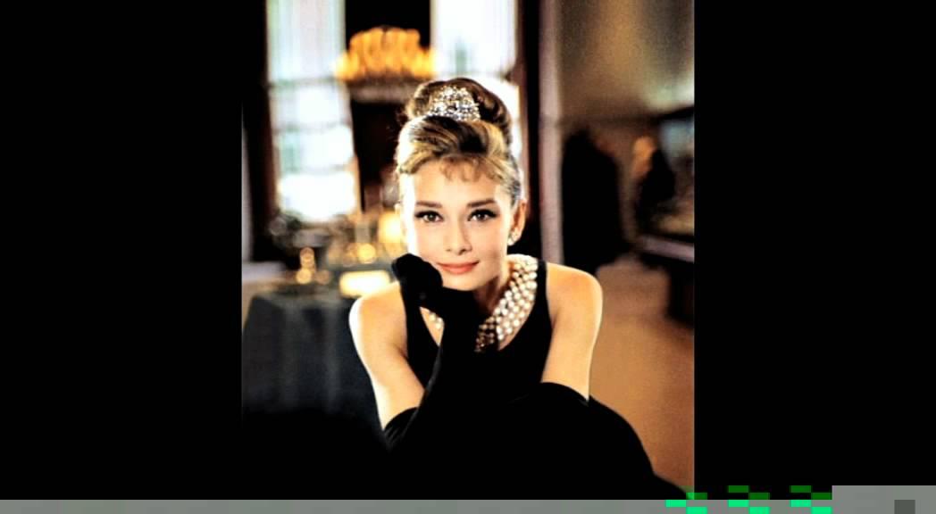 Audrey Hepburn: The Magic of Audrey - Little Black Dress - YouTube