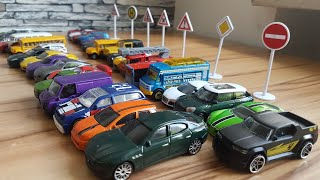 Driving toy Cars on the table Super Video for Kids