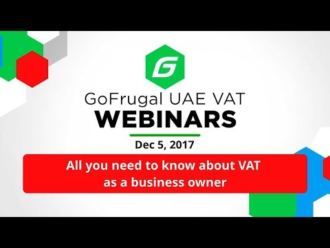 VAT in UAE - All you need to know as a business owner