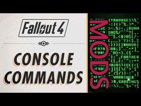 FALLOUT 4 - Utilizar CONSOLA DE COMANDOS para MODS