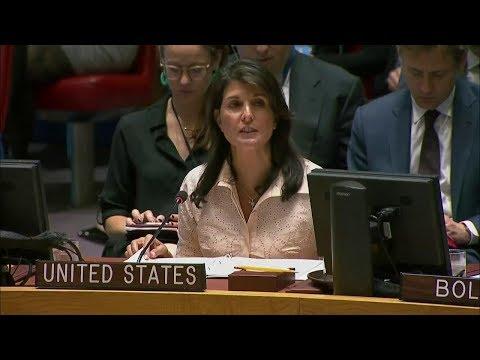 UN Security Council Emergency Meeting on Violence in the Middle East