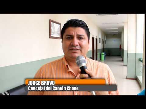GAD Municipal Chone gestiona mejoramiento vial